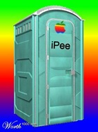 Apple Portable Potty