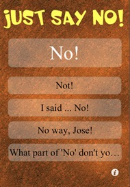 Funny Marriage Saver Yes Man Just Say No Iphone Apps